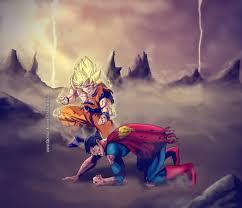 goku superman wallpaper