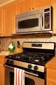 Oven Backsplash Kitchen Ge Stove Tops With Smart Tile Backsplash Also Oven