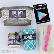 a gift in a tin spa day in a tin the diy mommy