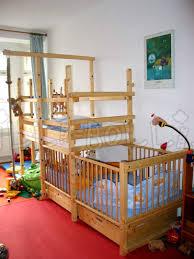 crib under a bunk bed curtain ideas