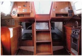 Small Boat Interior Design Ideas Cal 40 U0027 Interior Plans Boat Design Net