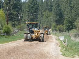 Montana Road Condition Map by Missoula County Mt Roads Division