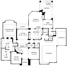 design floorplan mediterranean style house plan 5 beds 5 50 baths 4486 sq ft plan