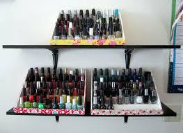 maiya knits mayhem ensues make your own nail polish rack