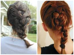 medium length hairstyles with braids double braided sidedo for medium long hair 2017