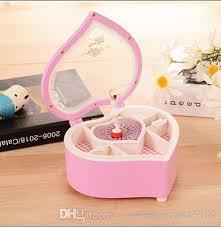 jewelry box favors wholesale rotate girl clockwork box jewelry box friend