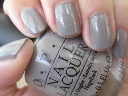 opi gray polished me