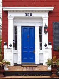 Blue House With Red Door The Road Is Mine Blue Door Red House