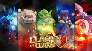 wallpaper coc keren for android clash of clans wallpaper heroes units city wallpaper and