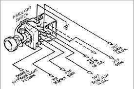headlight switch wiring diagram the 1947 present chevrolet