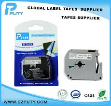 how to install brother p touch tape 5 pcs m k221 mk221 mk 221 compatible p touch 9mm black on white m