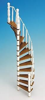 schmale treppen puppenhaus zubehör in oma s puppenstube puppenmöbel und miniaturen