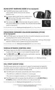 nissan murano emergency brake nissan murano hybrid 2016 3 g quick reference guide