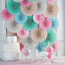 paper fan decorations vintage collection hanging paper fan decorations