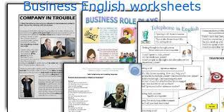 english teaching worksheets business english