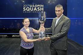 desai family presents new u s s chionship trophy to