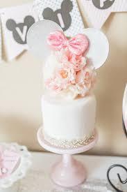 cake elegant minnie mouse boutique birthday party