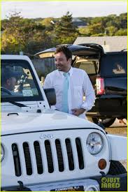 jeep jimmy drew barrymore u0026 jimmy fallon hang in the hamptons over labor day