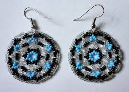 Native American Beaded Earrings Huichol 72 Best Earrings Images On Pinterest Native American Native