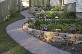 landscape design retaining wall ideas exprimartdesign com