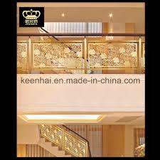 china villa decorative luxury indoor balcony aluminum railing