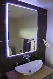 Bathroom Led Mirror Light Best 25 Led Mirror Lights Ideas On Pinterest Inside Bathroom