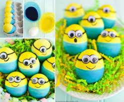 Decorating Easter Eggs Tradition by Diy Dyed Minion Easter Eggs Find Fun Art Projects To Do At Home