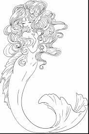fabulous mermaid drawings coloring pages mermaids coloring