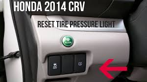 honda accord tire pressure light stays on honda crv 2014 how to turn off a tire pressure warning light youtube