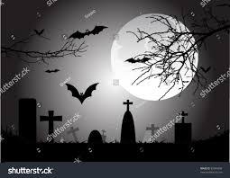 spooky halloween scene stock vector 87044990 shutterstock
