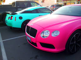 matte pink car redditpics matte pink bentley continental gt and matte teal