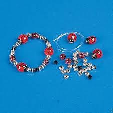 beaded bracelet kit images Ladybug bracelet bead kits jpg
