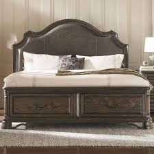 King Storage Headboard Coaster Carlsbad California King Storage Bed With Upholstered