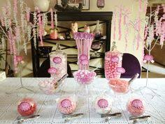 Pink And Black Candy Buffet by White And Pink Candy Buffet Bling Skewers Cool Stuff For Future