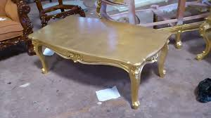 gold leaf coffee table antique gold leaf carving coffee table vixidesign com youtube
