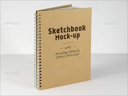 25 sketchbook mockups free u0026 premium psd templates creative
