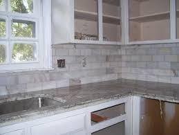 kitchen travertine stone backsplash tile marble tumbled kitchen