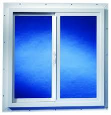 duo corp double slider vinyl basement window by