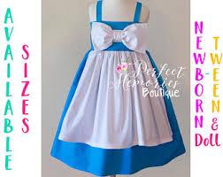Belle Halloween Costume Blue Dress Belle Dress Etsy