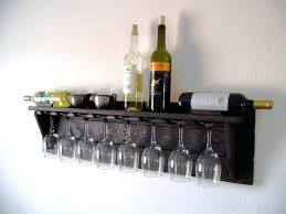 racks wine glass rack floating shelf stainless steel wine glass