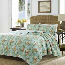 Duvet 100 Cotton Tommy Bahama Bedding Orchid Days 100 Cotton Reversible Quilt Set