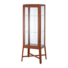 glass cabinet fabrikör glass door cabinet brown ikea