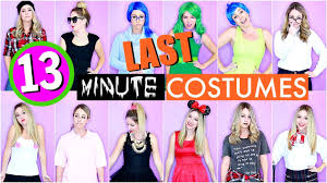 13 last minute diy halloween costumes youtube