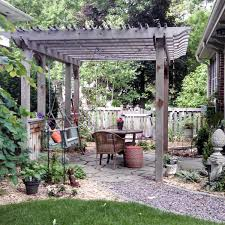 build a stone patio or brick patio family handyman