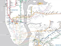Mta Nyc Map The Original Weather Blog New York Mta Map Of Subway Lines Open