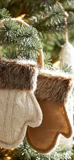 fur christmas keep your mantel warm and cozy with a knit from pier 1
