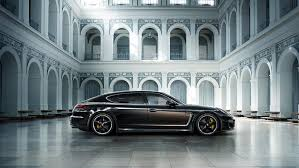 Porsche Panamera Brown - luxurious limited edition of the panamera