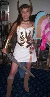 Shera Halloween Costume Special Ra Project Leather