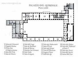Floor Plan Of Westminster Abbey Piano Nobile First Floor Plan Palazzo Quirinale From 1870