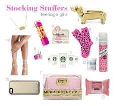 Good Stocking Stuffers Stocking Stuffer Guide For Teenage Girls Christmas Pinterest